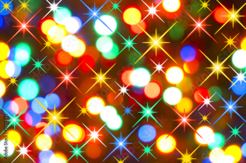 Poster holiday lights