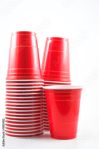 canvas print picture plastic drinking cup