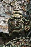 wat arun temple detail poster