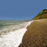 coast sea cliffs poster