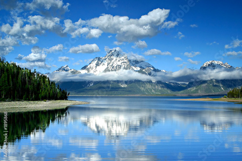 canvas print picture lake jackson