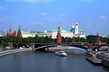 moscow the river