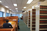 study area in library poster