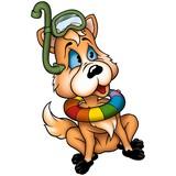 dog-fox diver poster