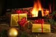 cadeaux et cheminée