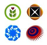 logo icon set 2 poster