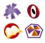 logo icon set poster