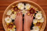 pampered feet poster