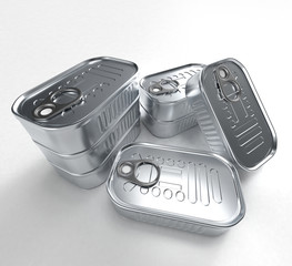boite conserve metal groupe