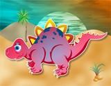 little dinosaur poster