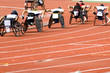 wheel chair race for disabled persons