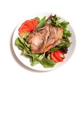 delicious pork chop dinner