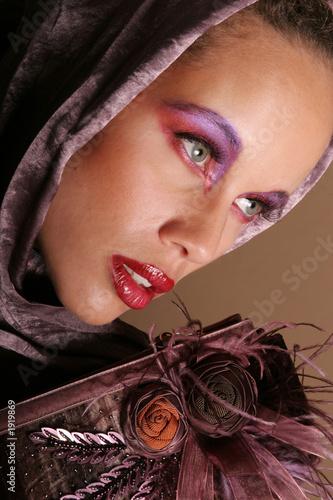 gorgeous biracial woman