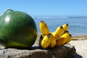 banane et pasteque