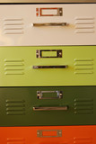 colorful drawers poster