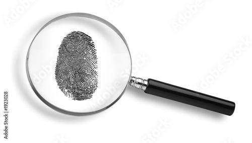 Leinwanddruck Bild detective