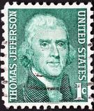 thomas jefferson stamp poster