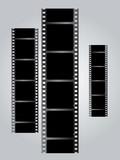 white film triple v gradient poster