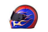 racing helmet poster