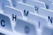 Leinwandbild Motiv alphabetisches register