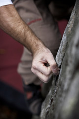 hand hold - rock climbing series