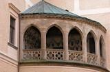 castle balcony. poster