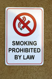 smoking signboard poster