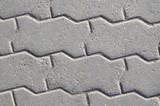 figure sidewalk slab texture #2 poster