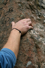 climber detail hand