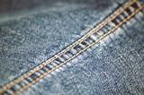 detail of denim jeans poster
