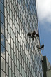 glass building cleaning
