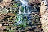 waterfall and moss poster
