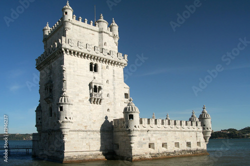 belém tower in lisbon, portugal