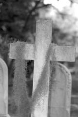 old cross.