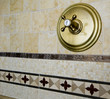 tile detail shower