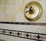 tile detail shower