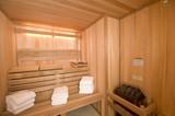 sauna custom built poster
