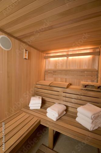 sauna custom built