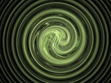 abstract hypnotic fractal composition poster