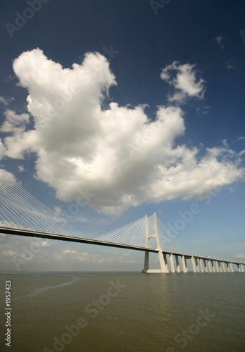 bridge and the clouds