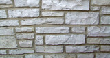 horizontal stone wall background poster