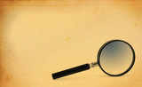magnifying glass poster
