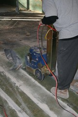 carpet removal machine