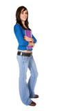 female student - full body poster
