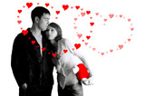 valentines day of love poster