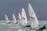laser sailing poster
