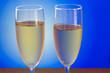 champagne blue