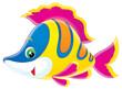 Leinwandbild Motiv coral fish