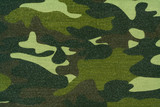 camouflage cloth poster