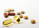 selection of vitamins poster